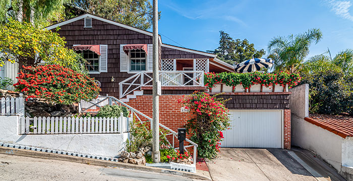NEW LISTING ~ Hollywood Hills bungalow